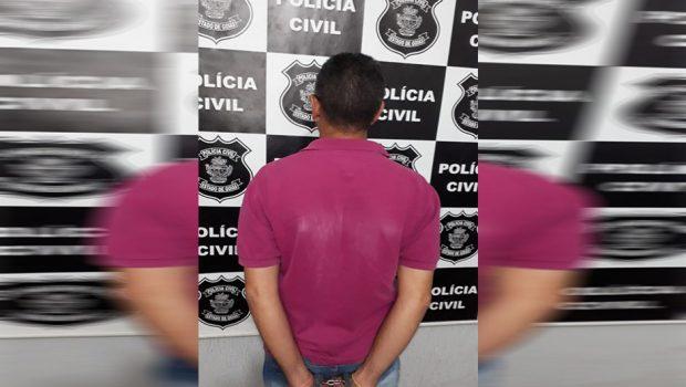 Homem é preso após estuprar a enteada de 10 anos, em Trindade