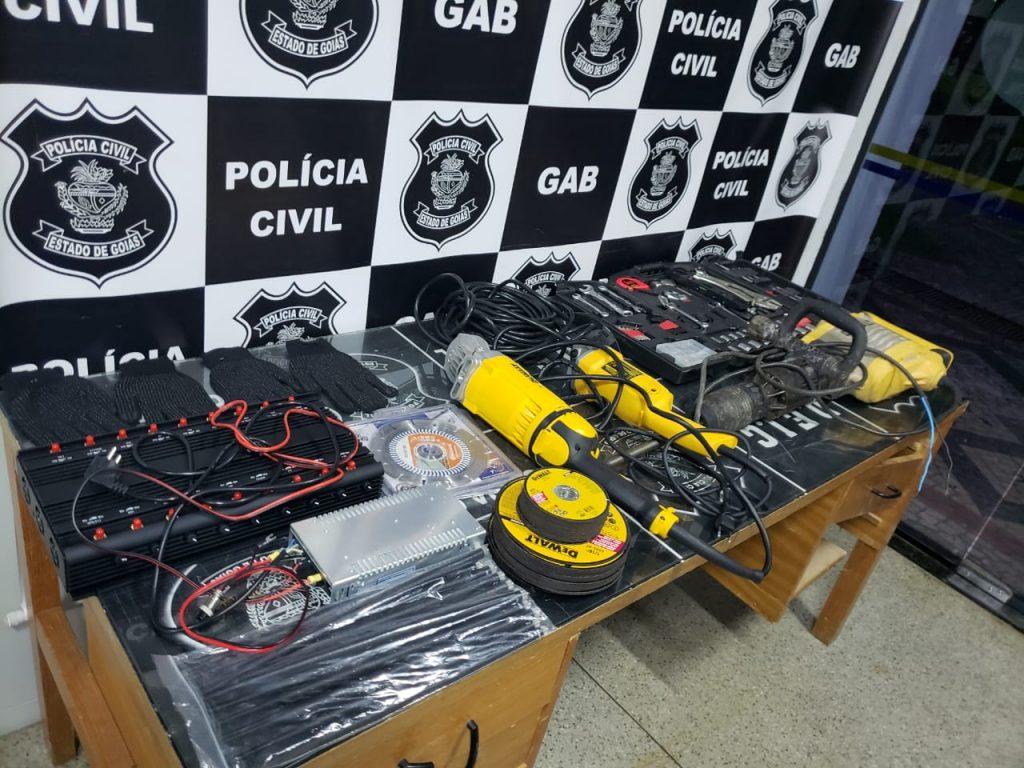 Polícia prende grupo que tentava arrombar agência dos Correios na Cidade Jardim, em Goiânia