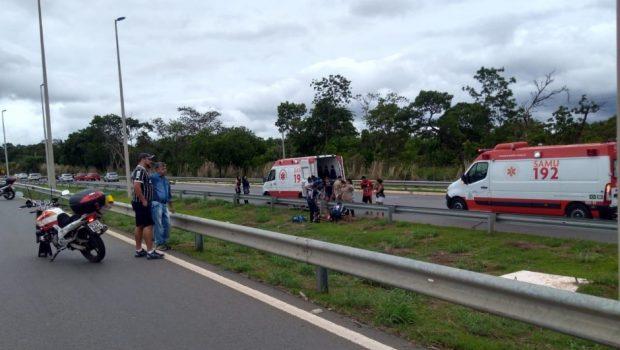 Criança de 11 anos morre em acidente na GO-403, em Senador Canedo