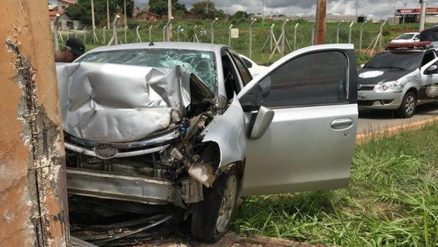 Homem morre em acidente no Anel Viário da BR 060, em Goiânia
