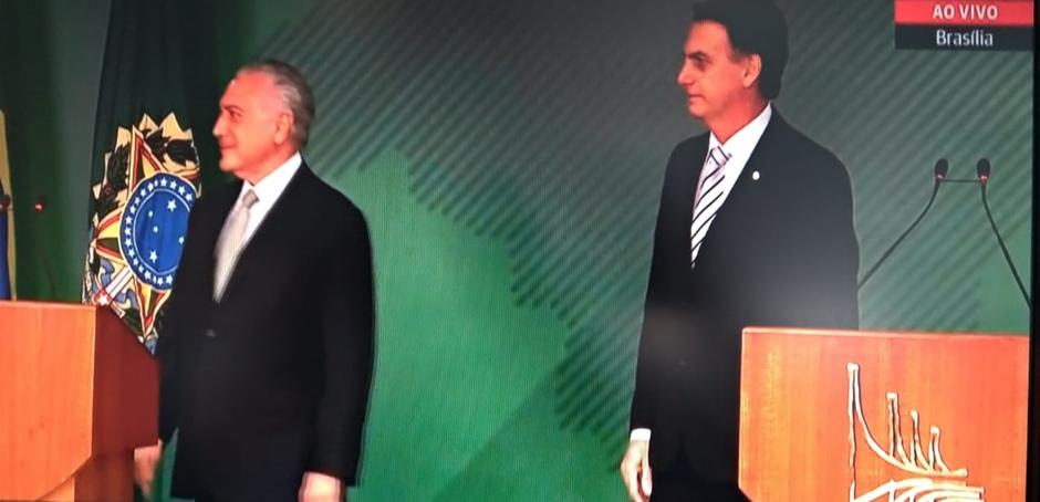 Temer e Bolsonaro têm primeiro encontro após eleições