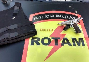 Foragido da Justiça morre em confronto com a Rotam, em Abadia de Goiás