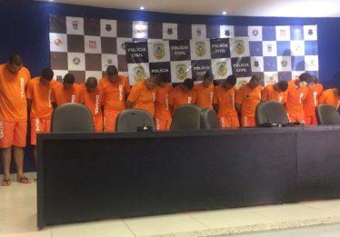 Operação da Polícia Civil de Goiás prende 58 criminosos ligados ao PCC