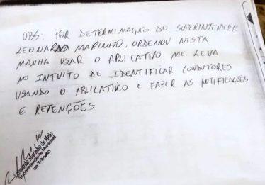 """Motoristas de aplicativo podem ter carro """"retido"""" pelo município de Caldas Novas"""