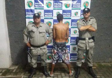 Homem é preso por tentativa de homicídio no Jardim Novo Mundo