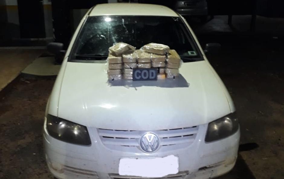 Traficante e casal de batedores são presos em abordagem da PM na GO-206, em Itarumã