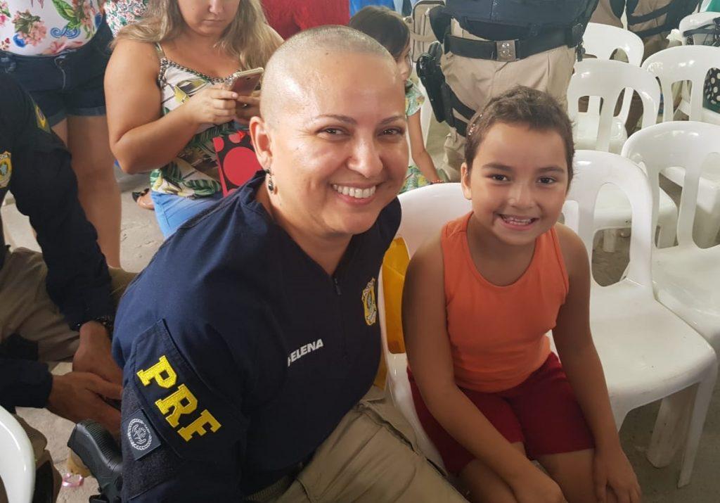 PRF encerra campanha contra o câncer infantil com evento no Araújo Jorge
