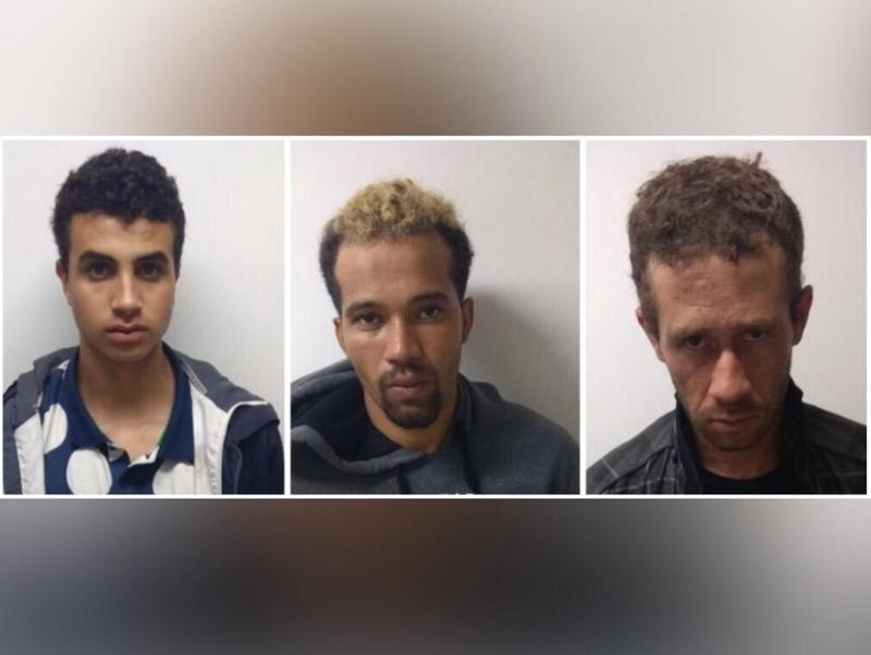 Trio é preso em flagrante ao tentar assaltar agência dos Correios, no Setor Coimbra