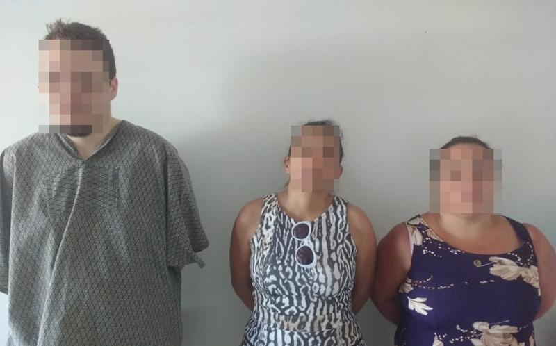 Ex-candidato a vereador e duas mulheres são presos por roubar loteria e supermercado, em Itaguari