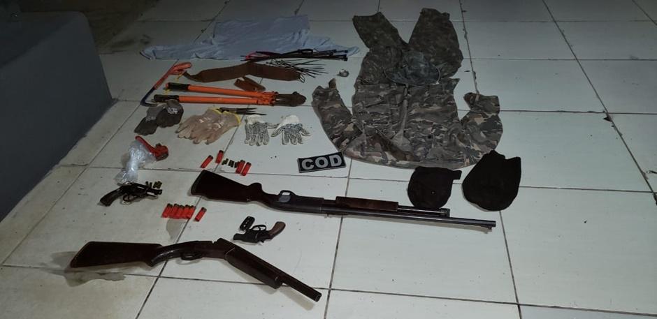 Três homens morrem após confronto com policiais militares na BR-158, em Caiapônia