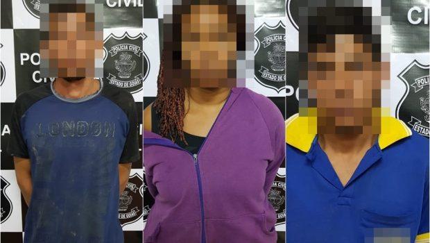 Trio é preso suspeito de matar casal de idosos em Campo Limpo