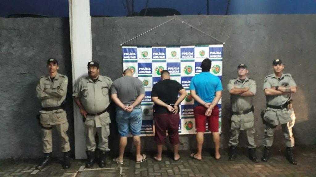 Três são presos por receptação e estelionato, em Goiânia