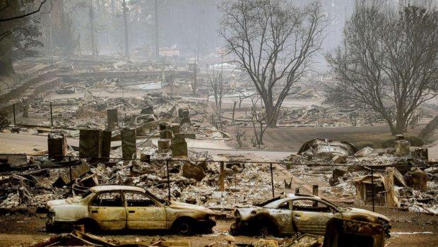 Número de desaparecidos em incêndio que devasta Califórnia supera 600