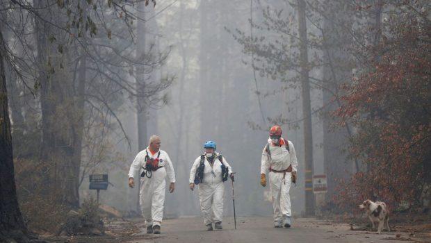 Incêndio nos EUA: 1,3 mil estão desaparecidos; 79 mortes confirmadas