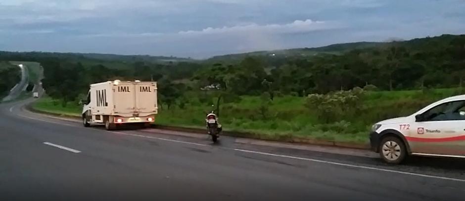 Motociclista morre em acidente na BR-060, em Alexânia