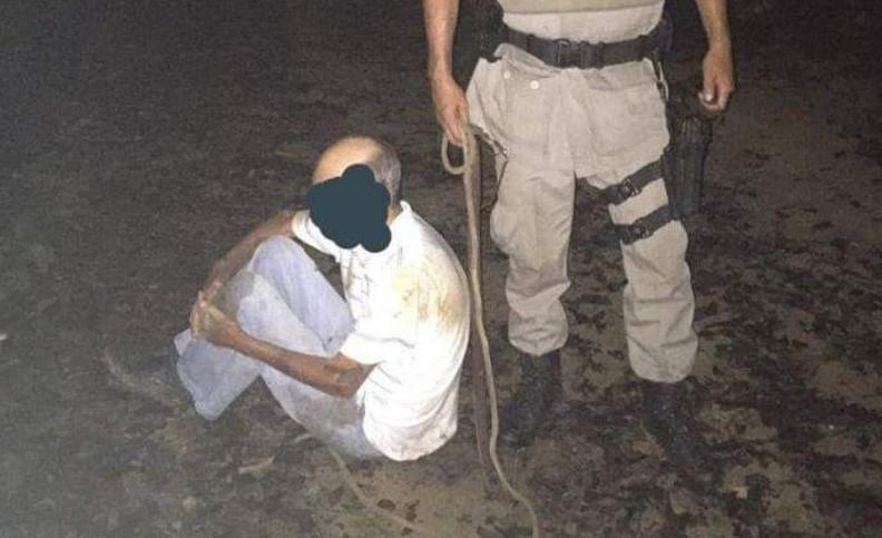 Trio suspeito de roubar taxista em Anápolis é preso pela PM em Niquelândia