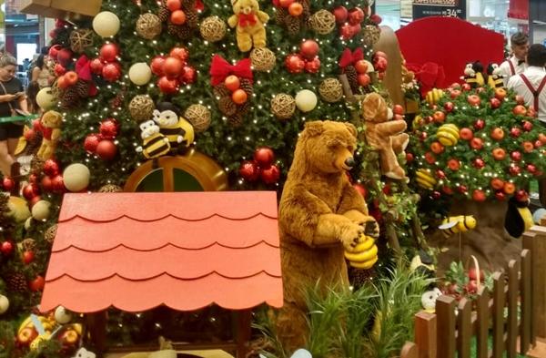 Natal dos Ursos (Foto: Wanja Borges / Cerrado Shopping)
