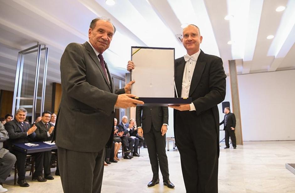 Filarmônica de Goiás é condecorada pelo Ministério das Relações Exteriores