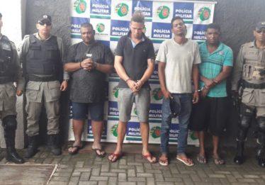 Quatro homens são presos por uso de documentos falsos e receptação