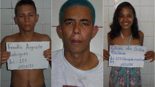Após serrar cadeado e quebrar parede, trio de ladrões foge da cadeia de Inhumas