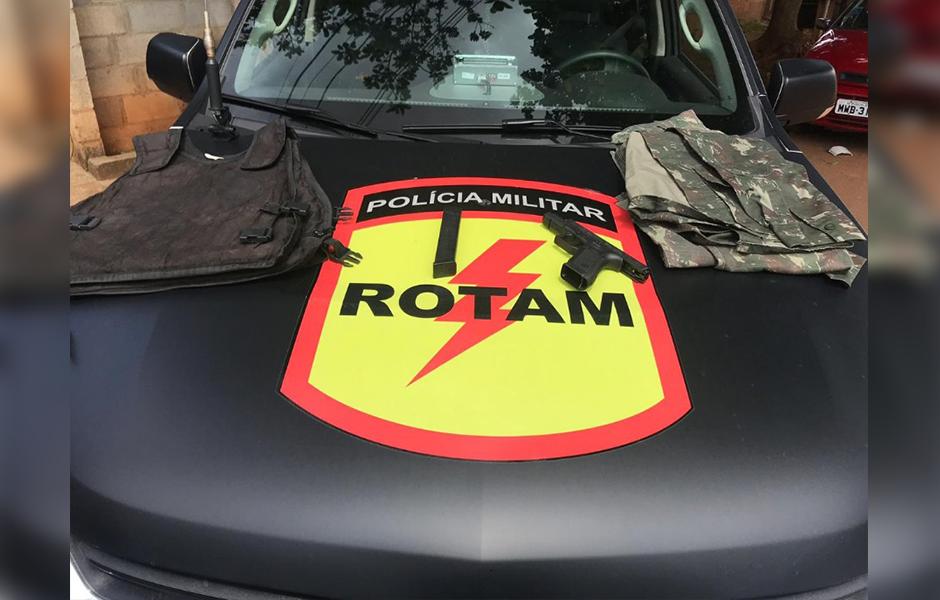 Ladrão de bancos que fugiu do Pará é morto em confronto com a Rotam