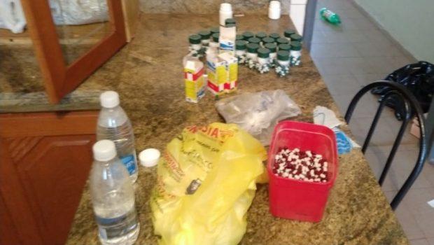 Polícia Civil prende grupo que fabricava e vendia ilegalmente remédios para emagrecimento