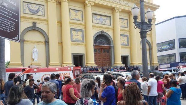 Homem abre fogo em catedral de Campinas; cinco pessoas teriam morrido