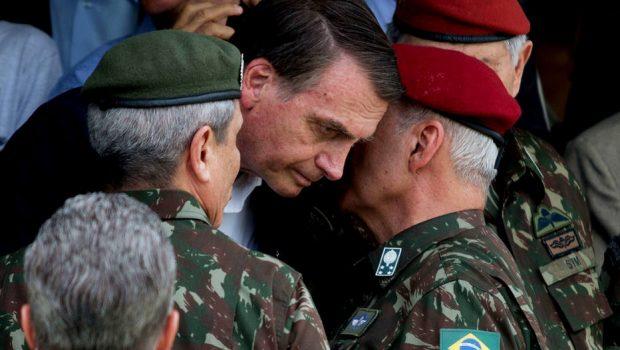 Governo de Bolsonaro terá Ministério com mais militares do que em 1964