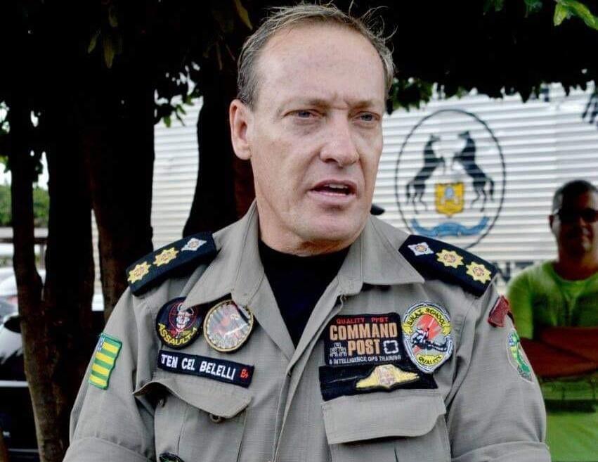 Tenente-coronel Belelli é preso em operação da PF que investiga grupos de extermínio em Goiás