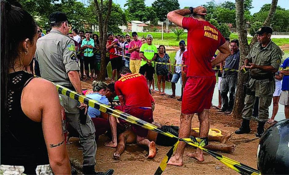 Duas pessoas morrem afogadas durante o feriado de Natal em Goiás