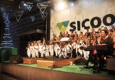 Sicoob UnCentro Brasileira faz 8ª Cantada de Natal nesta sexta-feira (14) em Goiânia