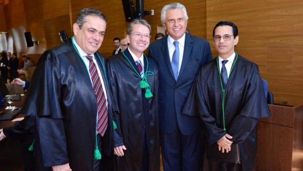 Caiado quer alinhamento do TCE com o Tesouro Nacional