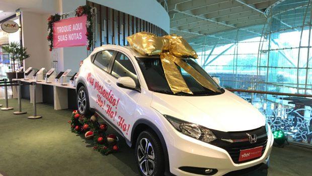 Clientes de shopping de Goiânia podem ganhar carro com R$ 350 em compras