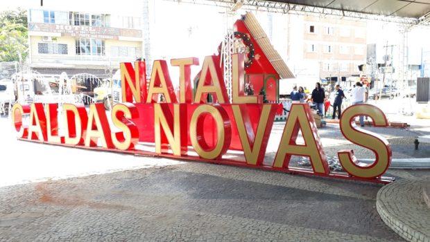Natal em Caldas Novas tem programação especial com shows e apresentações culturais