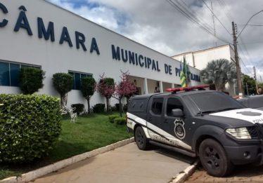 Gabinete de vereador é alvo de busca e apreensão na Câmara Municipal de Piracanjuba