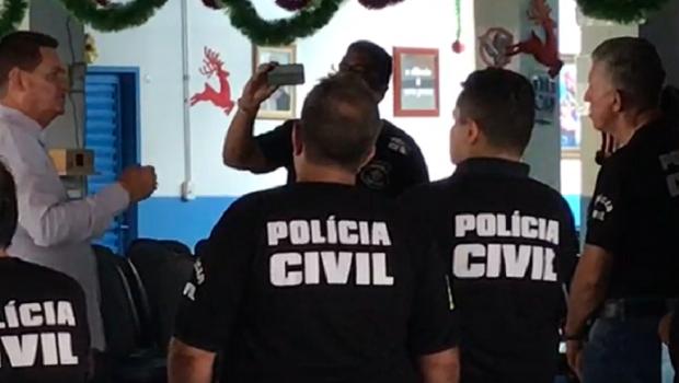 Polícia Civil cumpre mandados na Casa Dom Inácio de Loyola, de João de Deus, em Abadiânia
