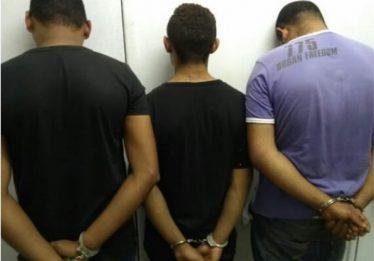 Preso trio suspeito de roubar fiéis em igreja de Águas Lindas (GO)