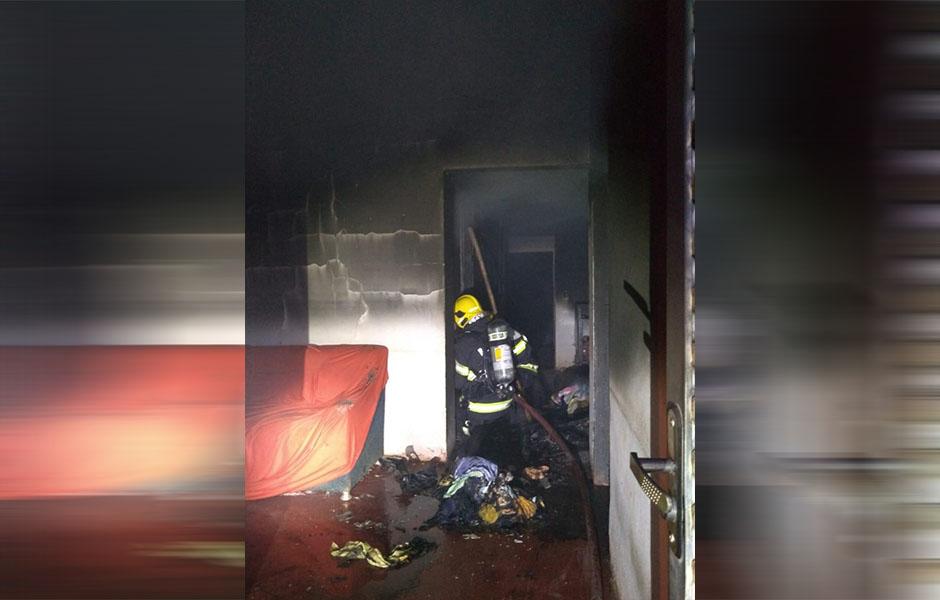 Filho briga com pai e ateia fogo na casa, em Formosa