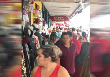Mais de um milhão de compradores devem passar pela região da Rua 44 nos finais de semana