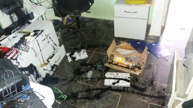 Escola municipal de Senador Canedo é assaltada e depredada