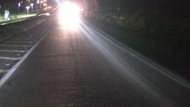 Homem morre após ser atropelado na BR-153, em Anápolis