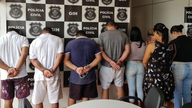 Polícia Civil prende quadrilha que aplicava golpes em Goiás, Paraná e DF