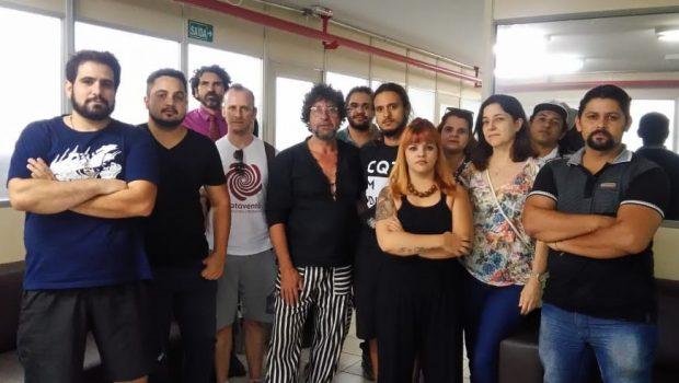 Artistas e produtores ocupam Sefaz e cobram R$ 31 milhões do Fundo de Cultura