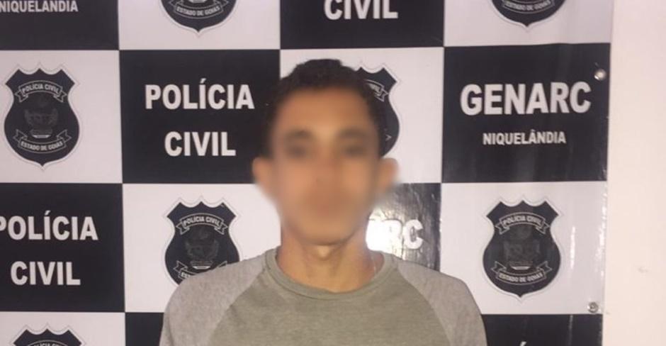 Jovem é preso suspeito de assassinar mulher a pedradas, em Niquelândia
