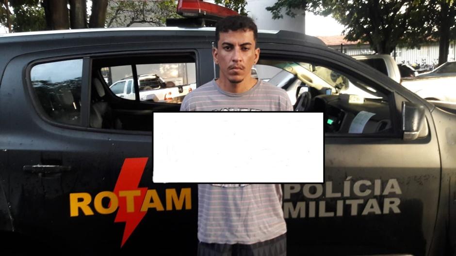 Rotam prende suspeito de participar de duplo homicídio em Goiânia