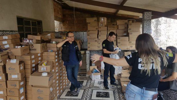 PC apreende mais de 3,5 toneladas de medicamentos vencidos, em Aparecida de Goiânia