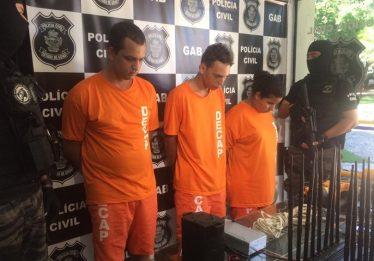 PM e PC prendem integrantes de quadrilha que corta cofres de bancos e de agências dos Correios