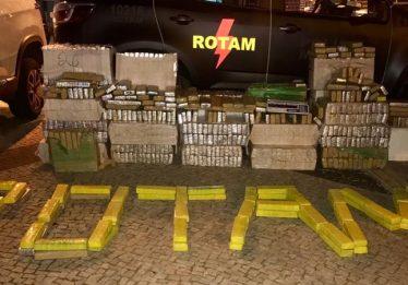 Jovem é preso com 700 kg de maconha, em Goiânia
