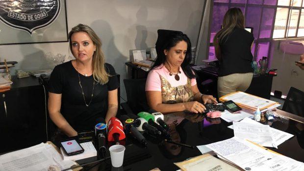 Esposa de João de Deus presta depoimento à Polícia Civil, em Goiânia