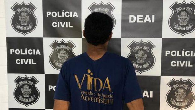 Filho é preso suspeito de maltratar e agredir a mãe idosa, em Goiânia